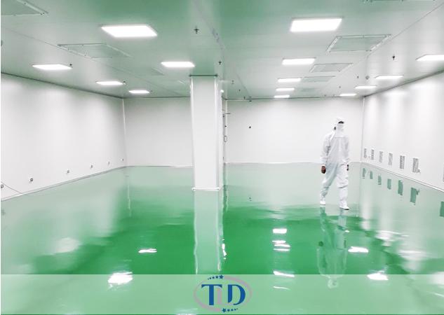 Dự án Phòng sạch nhà máy Hoa thái